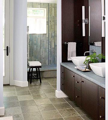 พื้นห้องน้ำ Limestone Tiles