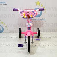 Sepeda Roda Tiga BMX Arava Alfrex Cat Sandaran