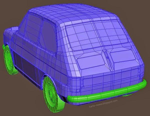3ds max; modelowanie 3d; fiat; fiat 126p; model 3d; maluch; polski fiat; jak zrobić model 3d; tutorial 3ds max; renderowanie; model samochodu; pojazd 3d; 3ds max car; kartonowo; materials 3ds max; 3ds max models;