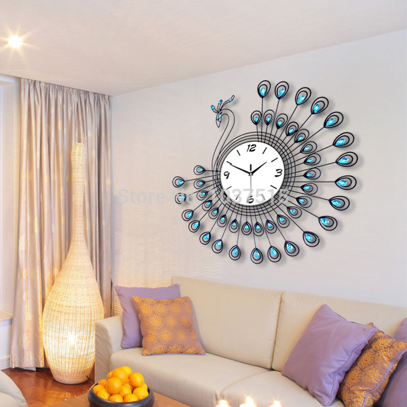25 Wall Decoration Ideas For Your Home: 25 European Luxury Wall Clock Design Ideas
