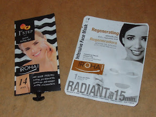 1er Paso Gel Peeling Pre-Mascarilla y Mascarilla Facial Intensiva Tisú, Iroha Nature