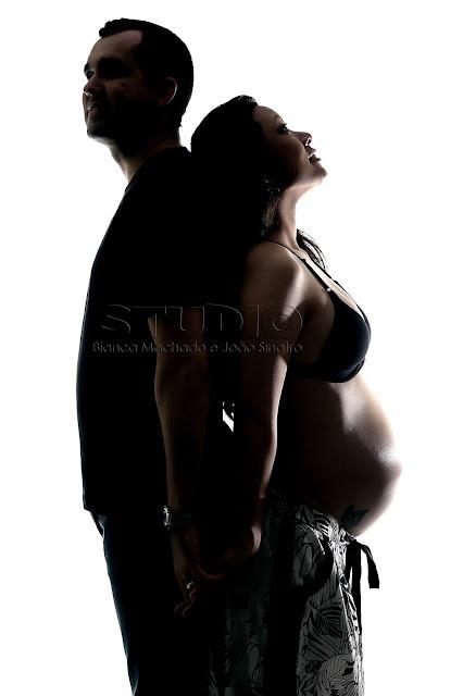 fotos gravidez em estudio