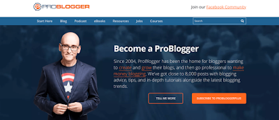 "Featured in the article: ""How Do Bloggers Make Money: 4 Proven Ways"". Example of a well known blogger site, Darren Rowse from ProBlogger."