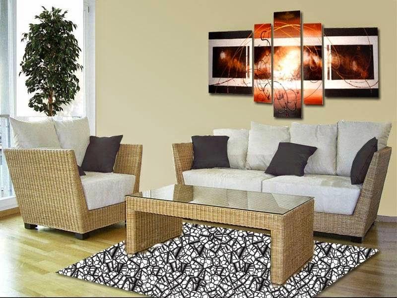 Tendencia en decoración: Los cuadros polípticos | Revista TendenciaDeco