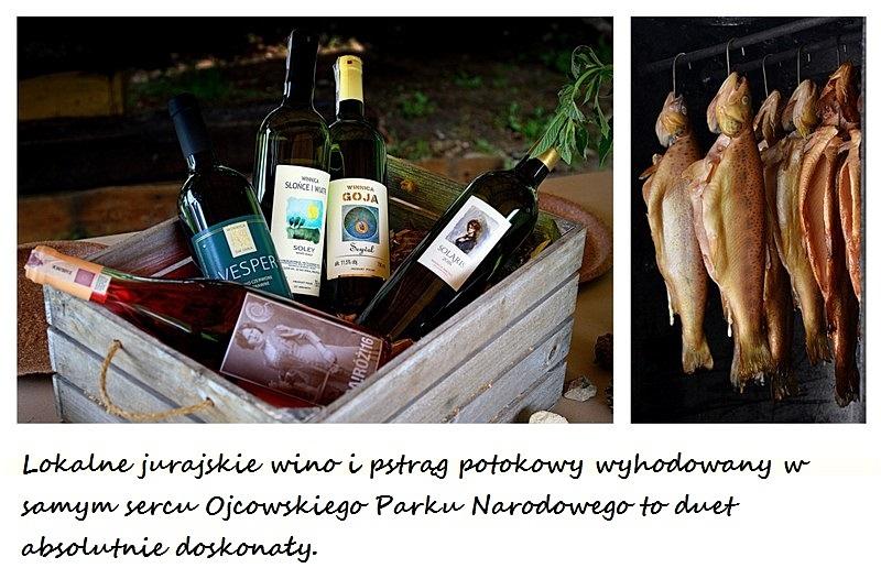 wina jurajskie, pstrag ojcowski, szlak jurajskich winnic, piknik, ojcowski park narodowy, zycie od kuchni, stowarzyszenie winiarzy jury krakowskiej