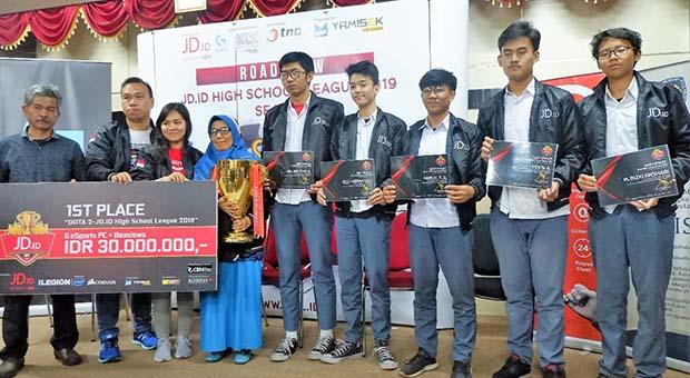 Tim Esports SMA Negeri 7 Bandung Siap Pertahankan Posisi