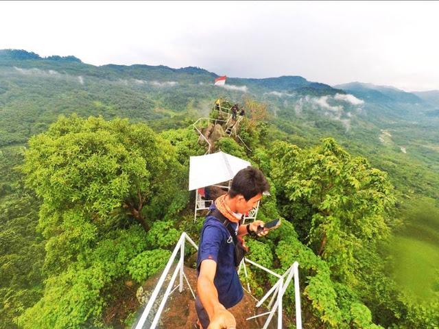 Bukit Selo Arjuno, Bukit Ekstirm yang Memiliki Pemandangan Cantik di Kendal, Berani Naik?