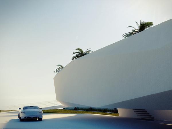 Wave Concept House Design