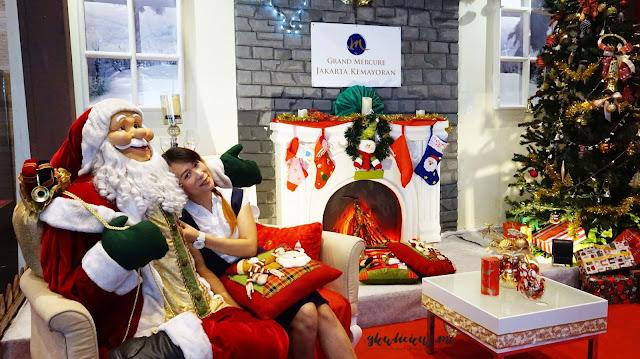 Dekorasi Natal Grand Mercure Hotel Kemayoran