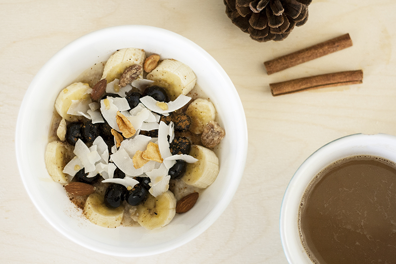 oats, healthy recipe, healthy oatmeal, oatmeal, fall breakfast, autumn