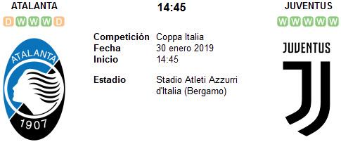 Atalanta vs Juventus en VIVO
