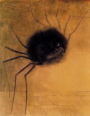 L'aranya que somriu (Odilon Redon)
