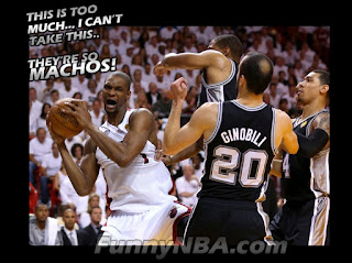 Heat vs Spurs 2013 Finals - Game 7 Funny Clips | NBA FUNNY