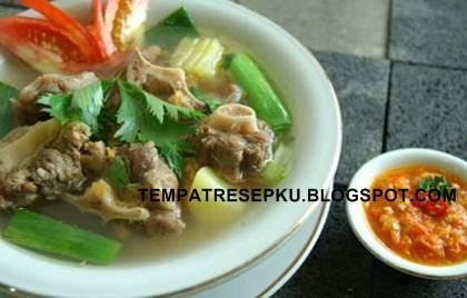 Sop buntut ini sangat populer di indonesia dengan cara menciptakan yang sudah banyak di keta Resep Sop Buntut Sapi Enak Gurih