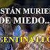 Argentina está llorando, Phillip Butters sobre la Selección de Fútbol