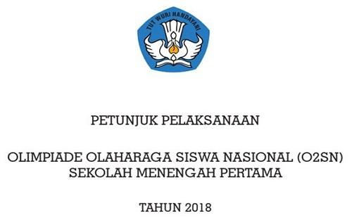 Petunjuk Pelaksanaan FLS2N SMP Tahun Pelajaran 2018/2019