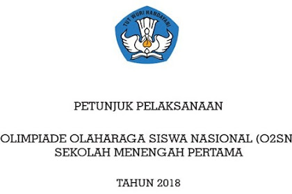 Juklak FLS2N SMP Tahun 2019
