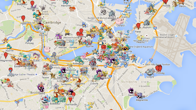 Pokemon GO invades Boston