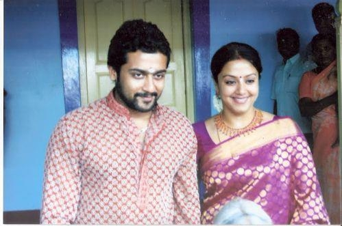 Surya And Jyothika Family