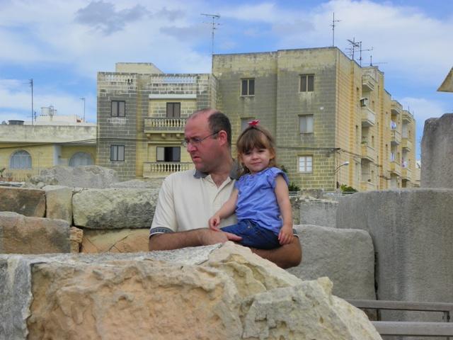En los Templos de Tarxiem en Malta