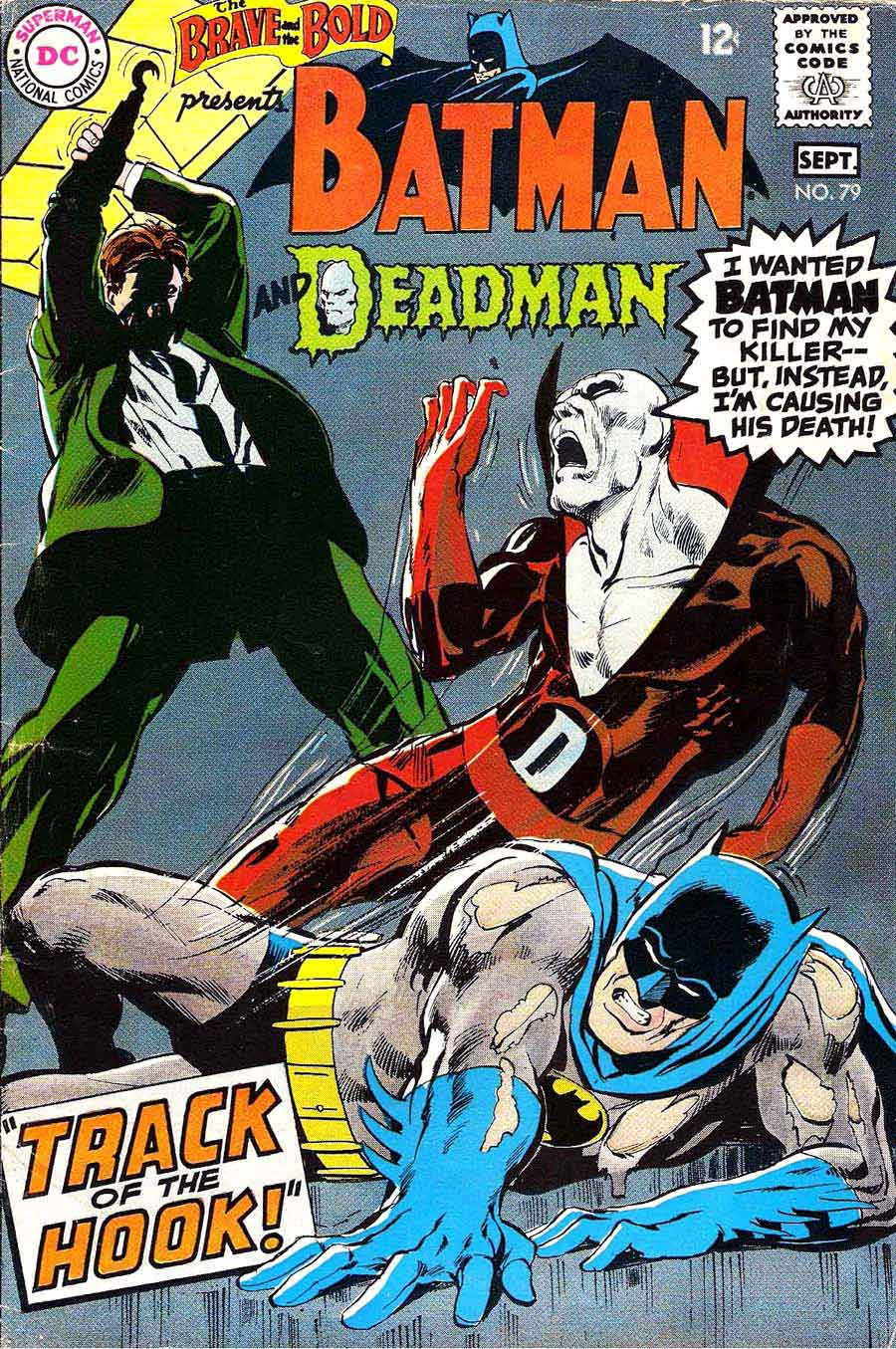 brave and the bold  79 - neal adams art  u0026 cover