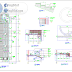 مخطط تفاصيل سلالم التعلية اوتوكاد dwg