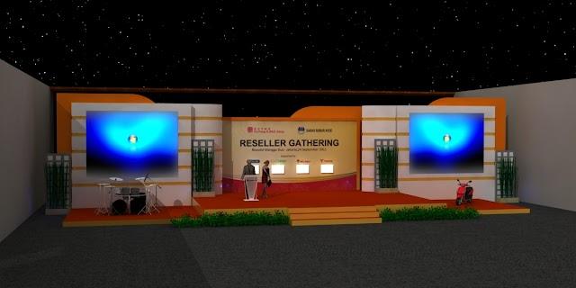 Menentukan Backdrop Untuk Event