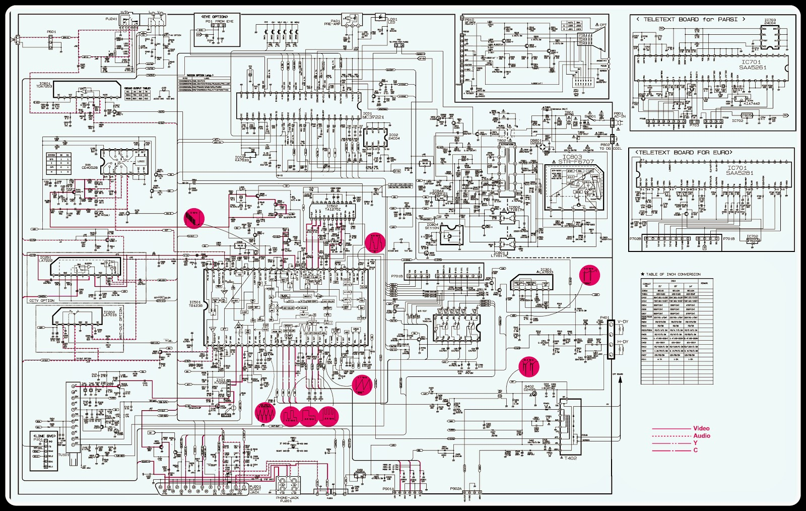 Philips Power Vision Tv Circuit Diagram