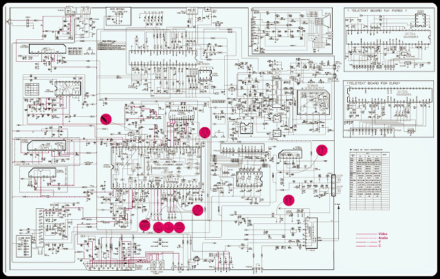 Lg TV Circuit Diagram | Learn Basic Electronics,Circuit