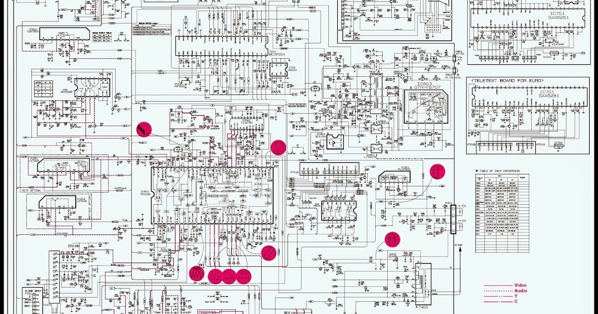 Rca Tv Wiring Diagram Wiring Diagram