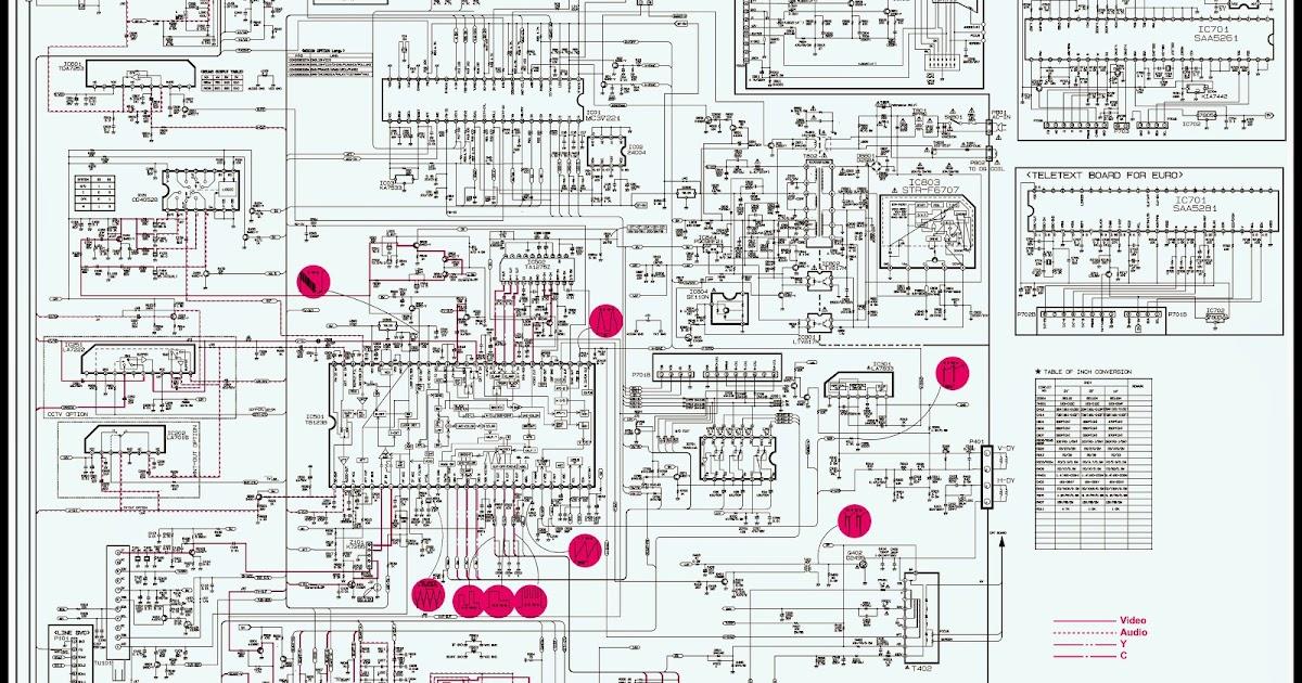 Lg TV Circuit Diagram | Learn Basic Electronics,Circuit Diagram,Repair,Mini Project