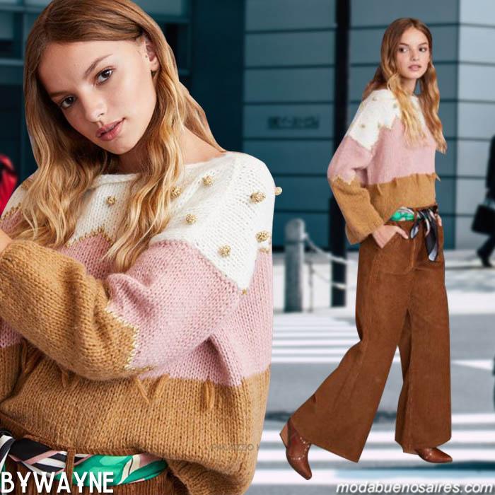 Moda invierno 2019 casual chic mujer. Moda invierno 2019 argentina: blusas, vestidos, pantalones y abrigos invierno 2019 mujer.