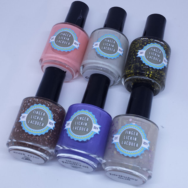 Finger Lickin Lacquer - Spring In Your Step