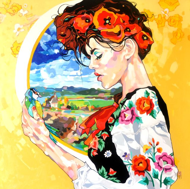 Польский художник. Dominik Jasinski