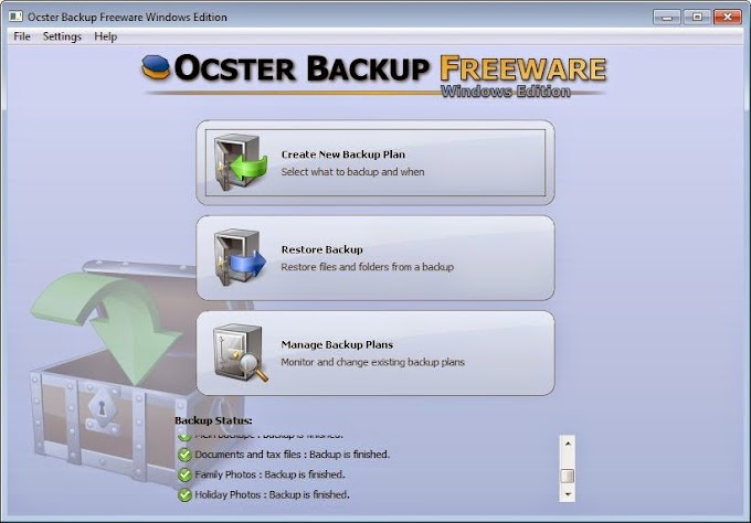Ocster Backup 1.99 - Κρατήστε αντίγραφα ασφαλείας αυτόματα