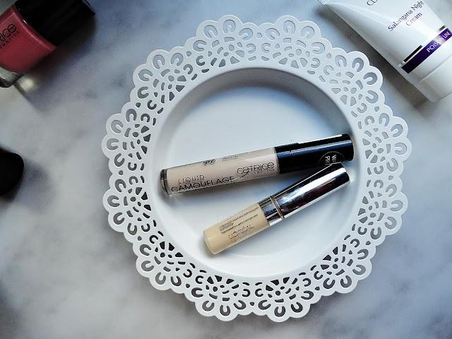 nyx inglot hd catrice nails paznokcie makijaż makeup utrwalenie korektor loreal lakier baza fixer