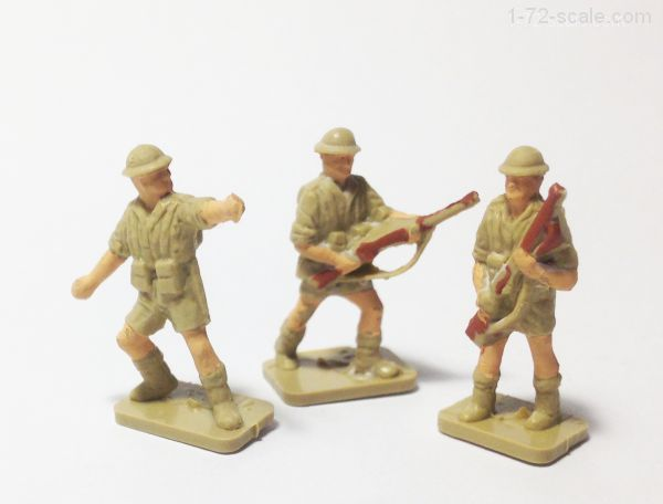 Painting   Scale Plastic Soldiers Using Wash