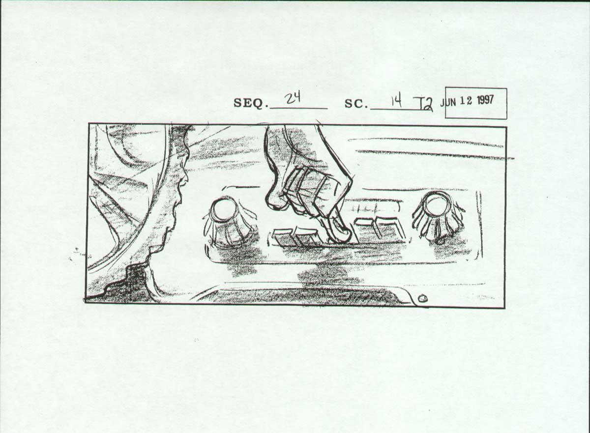 Cartoon Concept Design Iron Giant Storyboards