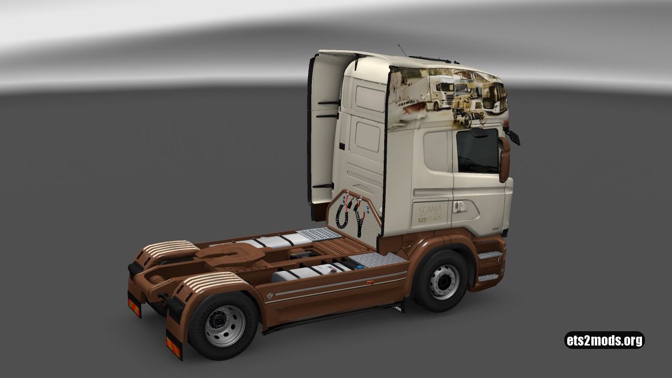 125 Years Skin for Scania RJL (v.21)