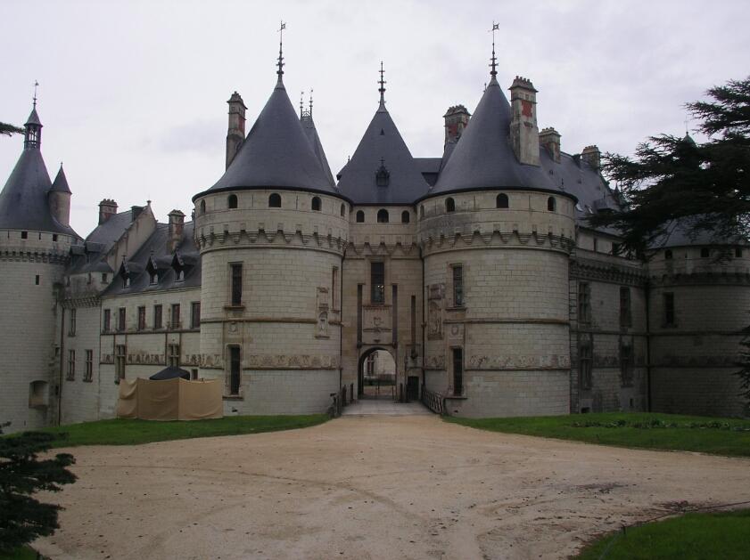 Célèbre GollyGeeGosh: France - Loire Day 04 - Chateau de Chaumont Inside  AF76