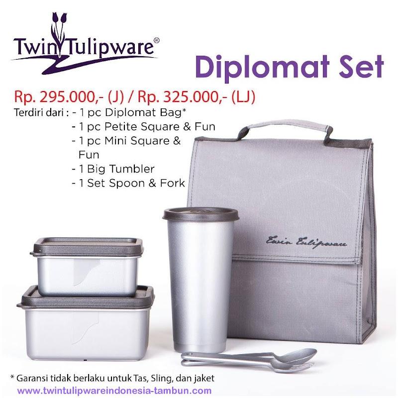 Diplomat Set - Katalog 2017 Twin Tulipware