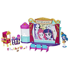 My Little Pony Equestria Girls Minis Mall Collection Movie Theater Juniper Montage Figure