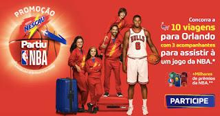 Promoção Nescau 2018 Partiu NBA