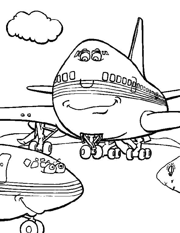 10 desenhos de aviões para colorir atividades pedagógicas