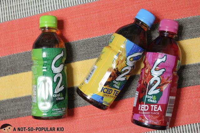 C2 Iced Tea and Red Tea