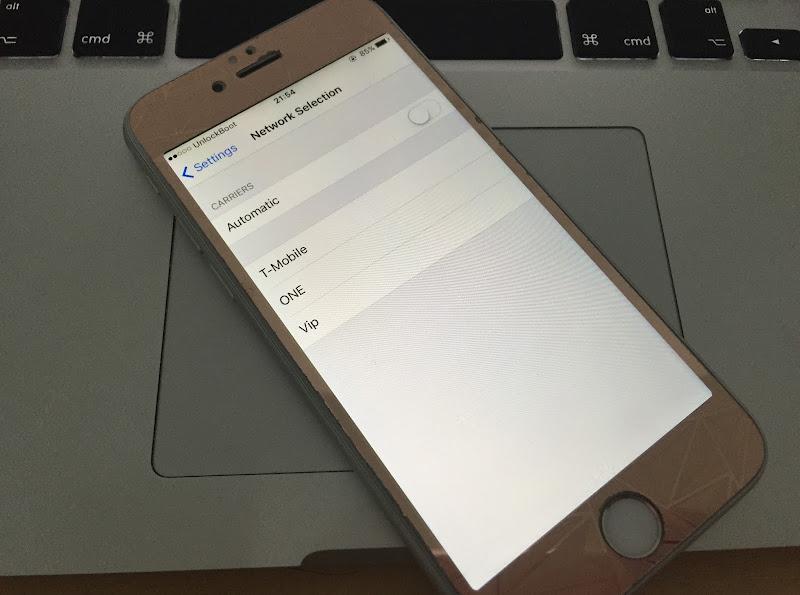 iPhone No service fix