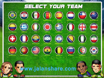 Screenhot Gameplay Head Soccer Mod Apk For Android