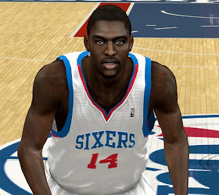 NBA 2K13 Justin Holiday Cyberface Patch