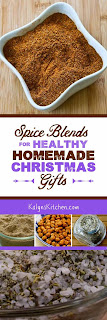 Spice Blends to Give for a Homemade Christmas Gift found on KalynsKitchen.com