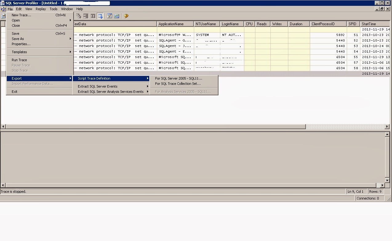 SQL Server Technet: 2013